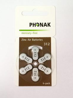 PHONAK BATTERY 312 POWER OnePL